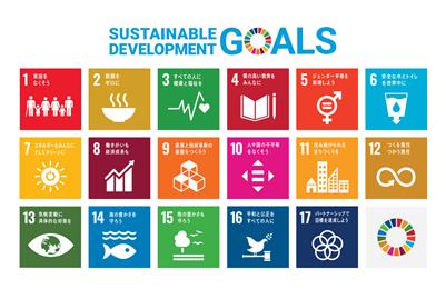 SDGsのポスターです。