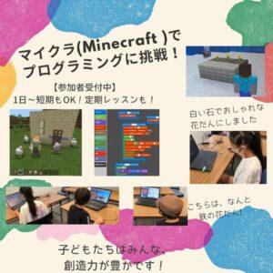 マインクラフトプログラミング